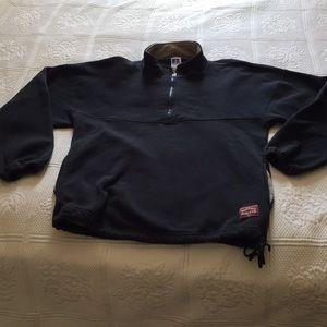 Russell Athletic black 1/4 zip sweatshirt